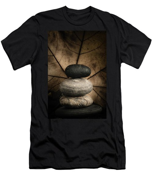 Stone Cairns II Men's T-Shirt (Athletic Fit)