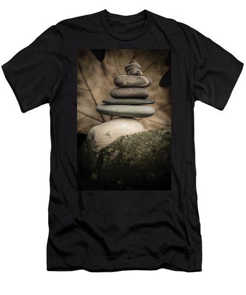 Stone Cairns Iv Men's T-Shirt (Athletic Fit)