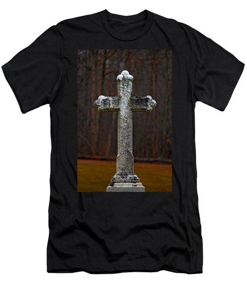 Stone Cross Men's T-Shirt (Athletic Fit)