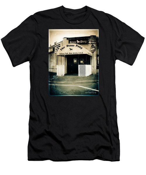Stone Pony Men's T-Shirt (Slim Fit) by Colleen Kammerer