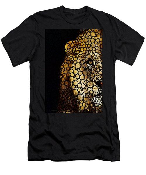 Stone Rock'd Lion - Sharon Cummings Men's T-Shirt (Athletic Fit)