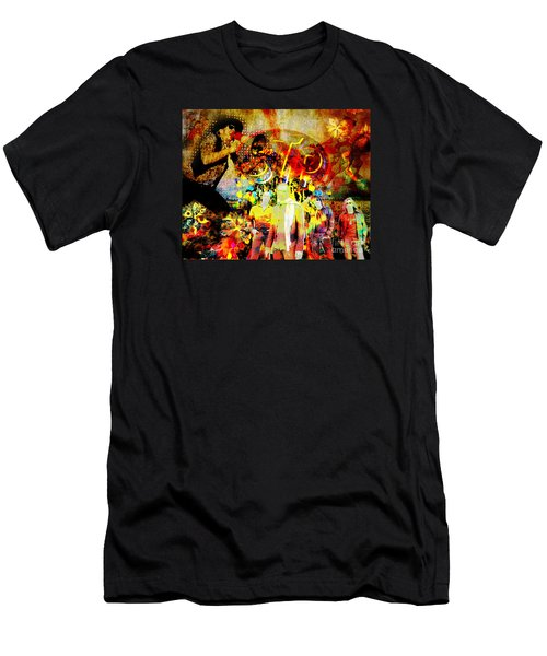 Stone Temple Pilots Original  Men's T-Shirt (Slim Fit) by Ryan Rock Artist