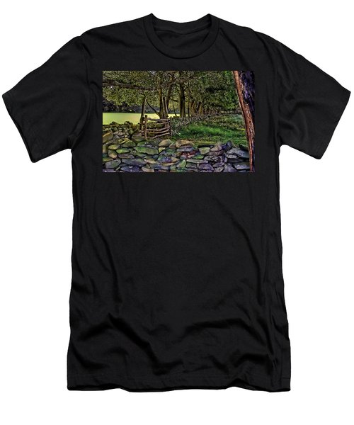 Stone Walled Men's T-Shirt (Athletic Fit)
