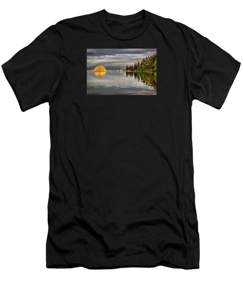 Storm Light Men's T-Shirt (Slim Fit) by Alice Cahill