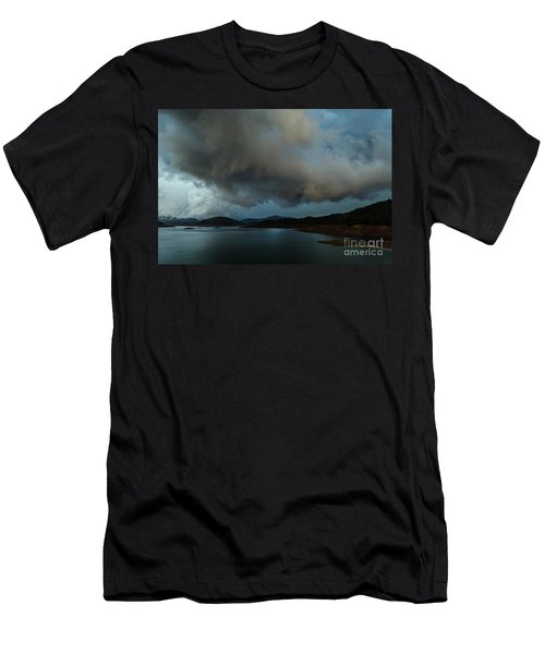 Storm Over Lake Shasta Men's T-Shirt (Athletic Fit)