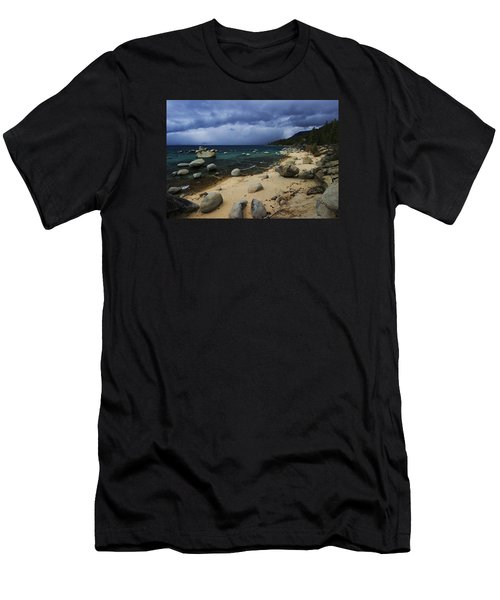 Men's T-Shirt (Slim Fit) featuring the photograph Stormy Days  by Sean Sarsfield