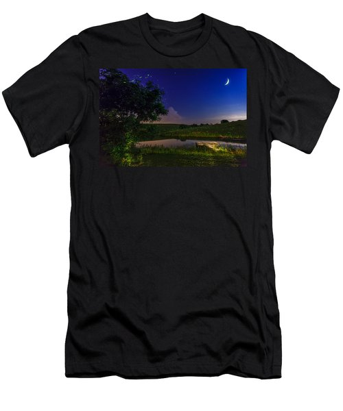 Strangers In The Night Men's T-Shirt (Athletic Fit)