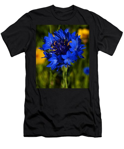 Straw Flower Men's T-Shirt (Athletic Fit)