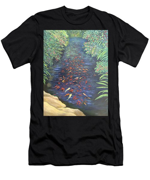 Stream Of Koi Men's T-Shirt (Athletic Fit)