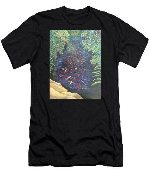 Stream Of Koi Men's T-Shirt (Athletic Fit)