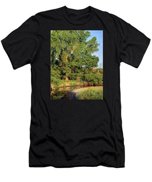 Streamside Cottonwood Men's T-Shirt (Athletic Fit)