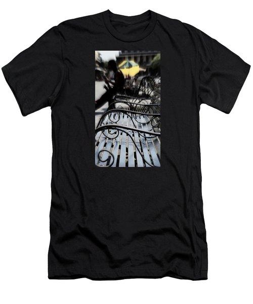 Street Jazz In The Big Easy Men's T-Shirt (Slim Fit) by Paul  Wilford