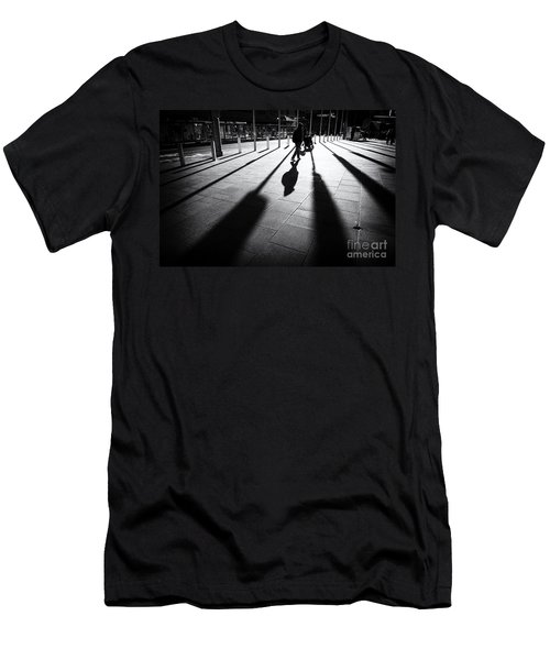 Street Shadow Men's T-Shirt (Athletic Fit)