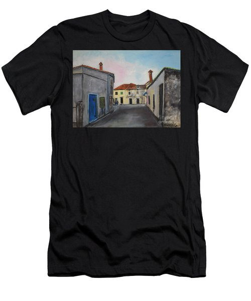Street View From Kavran Men's T-Shirt (Athletic Fit)