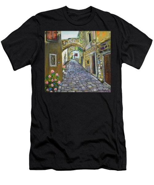 Street View In Pula Men's T-Shirt (Athletic Fit)