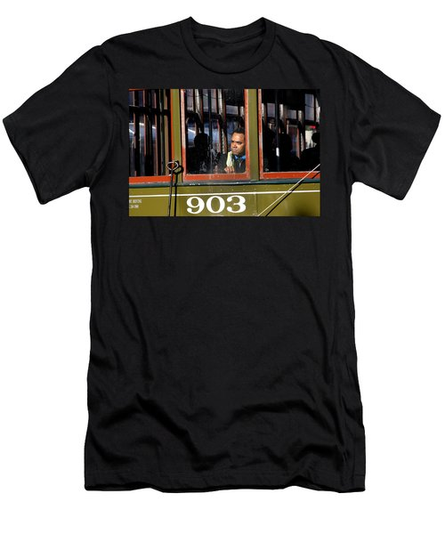 Men's T-Shirt (Athletic Fit) featuring the photograph Streetcar 903 by KG Thienemann