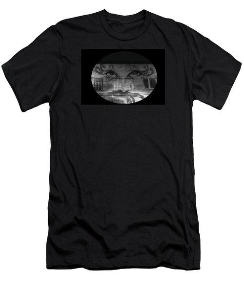 Striking Eyes  Men's T-Shirt (Athletic Fit)