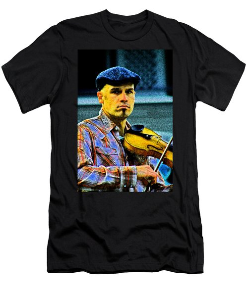 My String Instrument Men's T-Shirt (Athletic Fit)