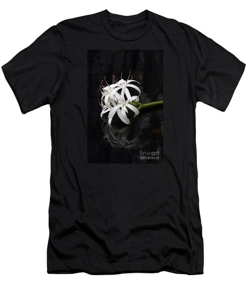 Men's T-Shirt (Slim Fit) featuring the photograph String Lily #1 by Paul Rebmann