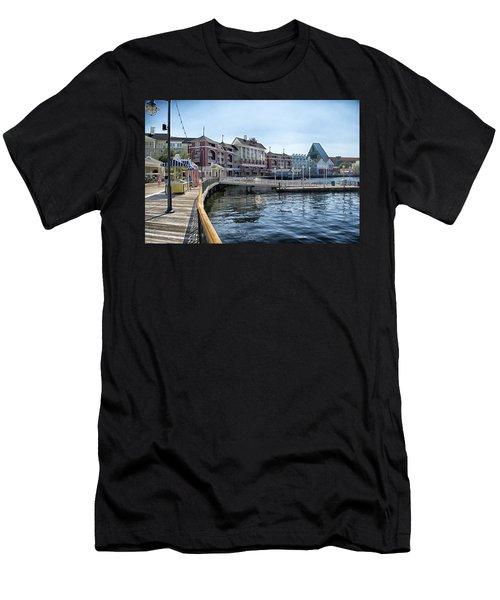 Strolling On The Boardwalk At Disney World Men's T-Shirt (Athletic Fit)