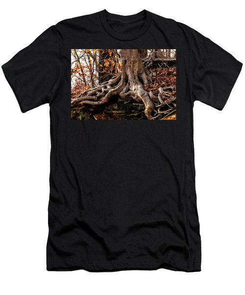 Strong Roots Men's T-Shirt (Athletic Fit)