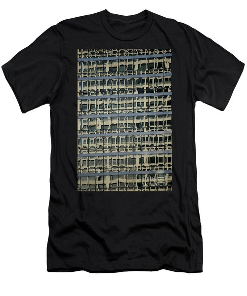 Men's T-Shirt (Athletic Fit) featuring the photograph Structured by Christiane Hellner-OBrien