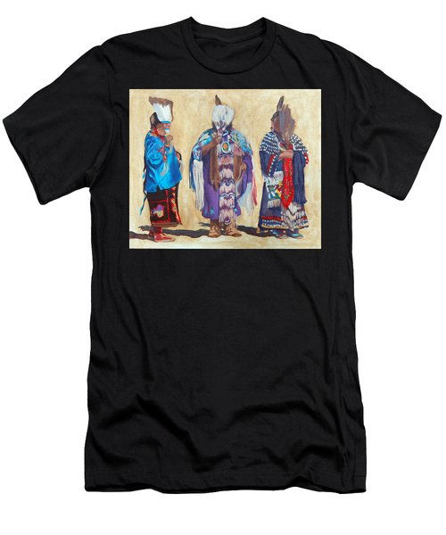 Study For The Three Sentinels Men's T-Shirt (Athletic Fit)
