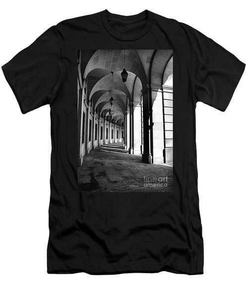 Men's T-Shirt (Slim Fit) featuring the photograph Study In Black And White by John S