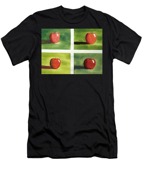 Study Red And Green Men's T-Shirt (Athletic Fit)