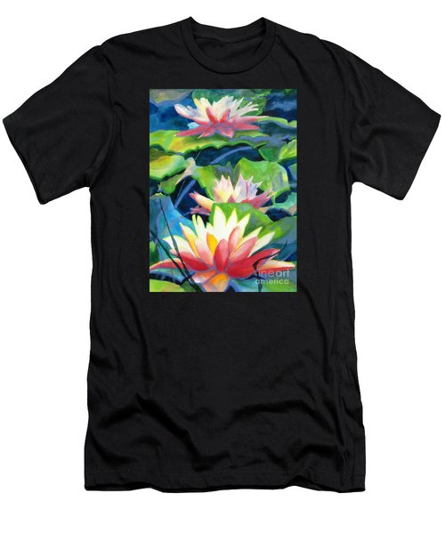 Styalized Lily Pads 3 Men's T-Shirt (Athletic Fit)