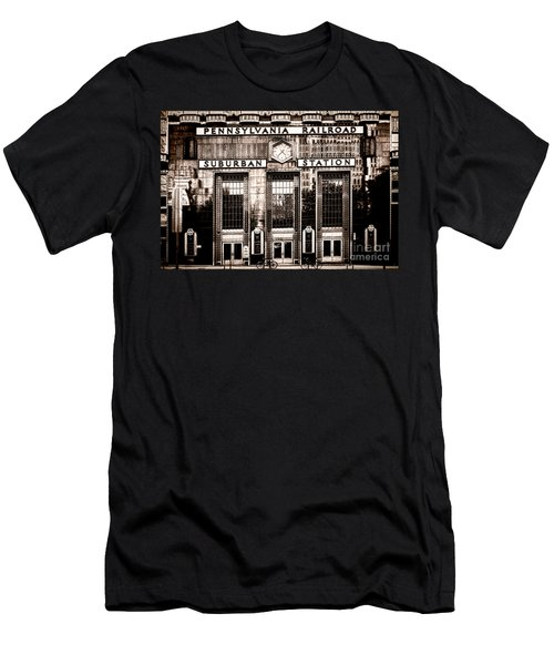 Suburban Station Men's T-Shirt (Athletic Fit)