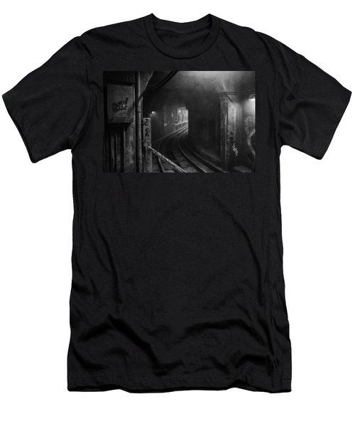 Subway Nyc Men's T-Shirt (Athletic Fit)