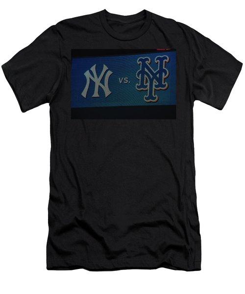 Subway Series Men's T-Shirt (Athletic Fit)