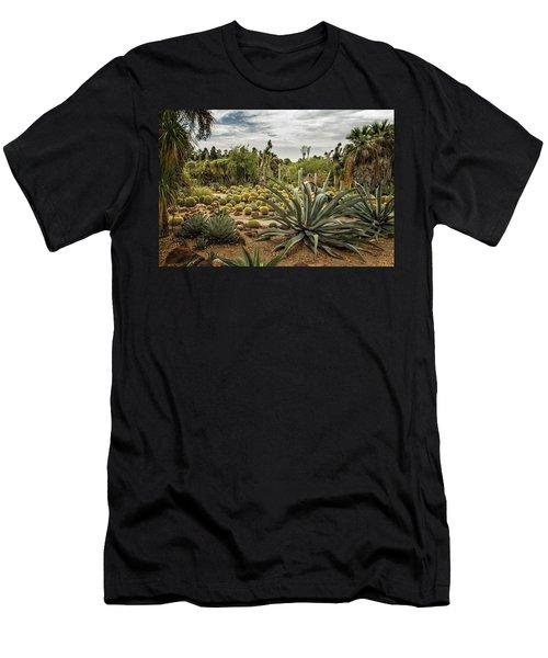 Succulents At Huntington Desert Garden No. 3 Men's T-Shirt (Athletic Fit)