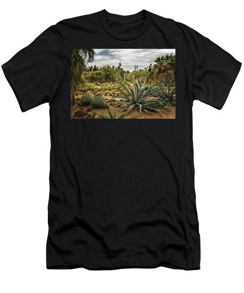 Succulents At Huntington Desert Garden No. 3 Men's T-Shirt (Athletic Fit)