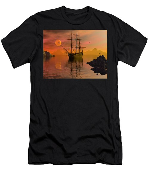 Summer Anchorage Men's T-Shirt (Athletic Fit)
