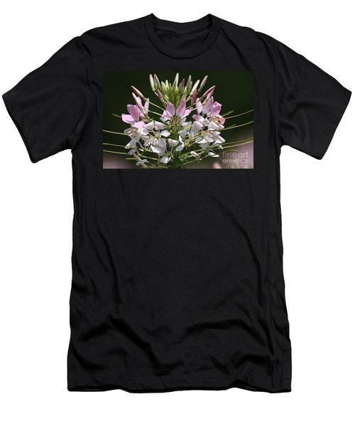Summer Blossom Men's T-Shirt (Slim Fit) by Yvonne Wright
