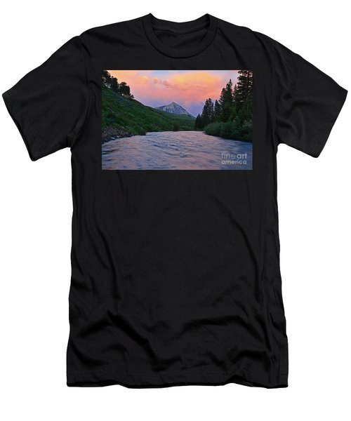 Summer Evening Reflections Men's T-Shirt (Athletic Fit)
