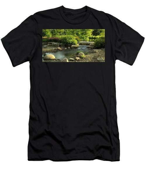 Summer In Forest Park Men's T-Shirt (Athletic Fit)