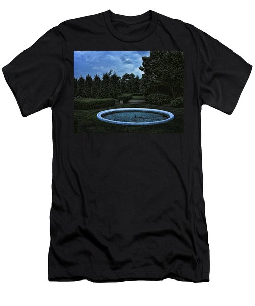 Summer Storm Coming Bahai Temple Men's T-Shirt (Athletic Fit)