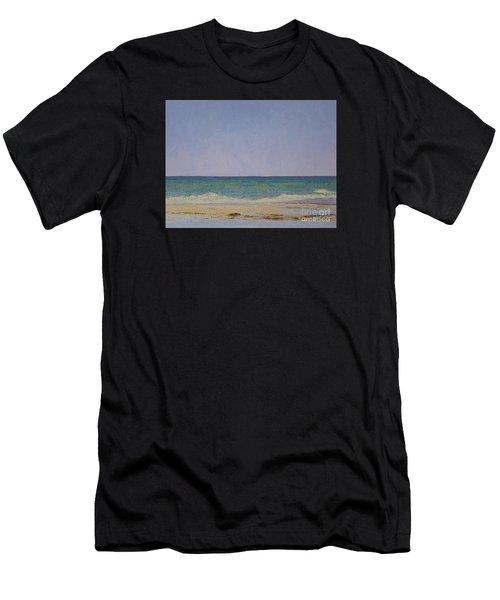 Summer Storm Tidepools Men's T-Shirt (Athletic Fit)