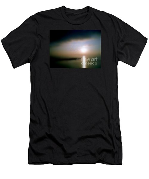 Men's T-Shirt (Slim Fit) featuring the photograph Summer Sunrise by Michael Hoard