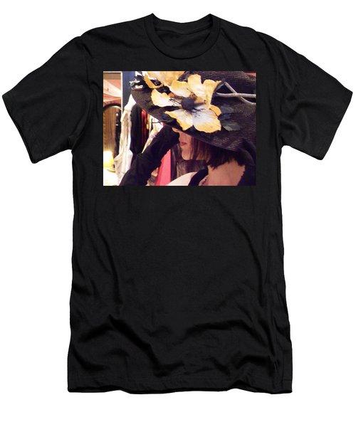 Summer Tease Men's T-Shirt (Slim Fit) by David Trotter