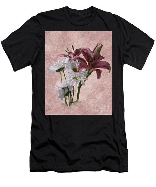 Summer Wild Flowers 3 Men's T-Shirt (Athletic Fit)