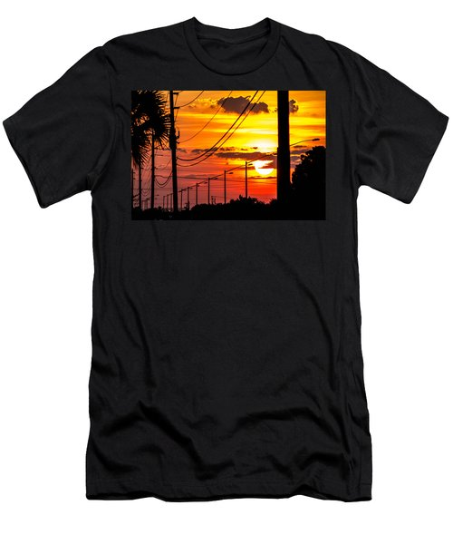 Men's T-Shirt (Athletic Fit) featuring the photograph Summers Best by Tyson Kinnison