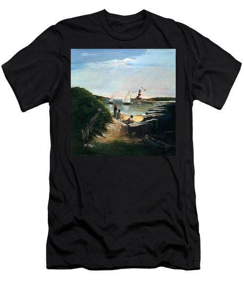 Summer's End Men's T-Shirt (Athletic Fit)