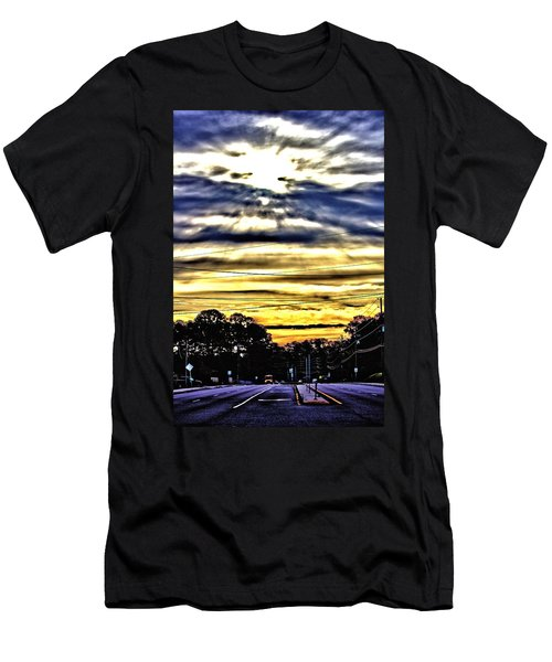 Men's T-Shirt (Athletic Fit) featuring the photograph Sun Burst by Tyson Kinnison