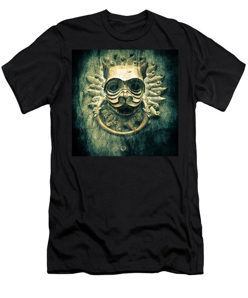 Sun Cat Door Knocker Men's T-Shirt (Athletic Fit)