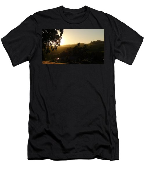 Sun Down Men's T-Shirt (Athletic Fit)