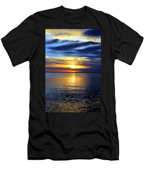 Sun Down South Men's T-Shirt (Athletic Fit)